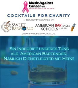 Bartender School Ccoktails for Charity