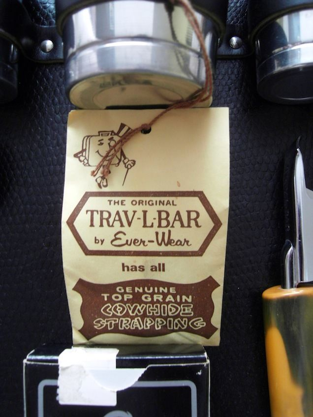 Der original Bar Koffer von Ever Wear wurde in Chicago angefertigt.